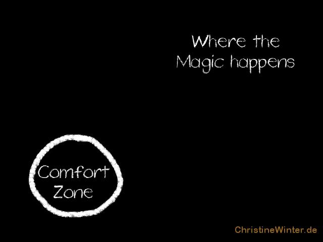 Komfortzone, Teil 2 - Schaubild 2 Die Extravertierten